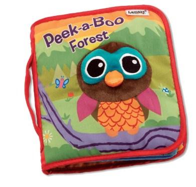 拉玛泽 Lamaze Peek-A-Boo Forest Soft Book 《找找森林中的动物》宝宝立体布书
