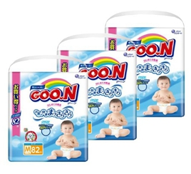日亚家庭会员专享,GOON大王 纸尿裤尿不湿立减500日元