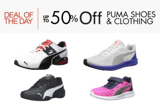 彪马 Puma 运动鞋、服饰低至5折