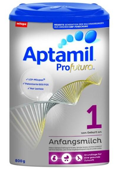 德国爱他美1段铂金装 Aptamil Profutura 1 婴幼儿配方奶粉4罐800克