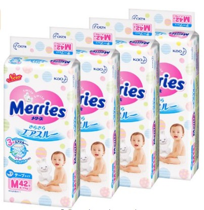 花王妙而舒 Mary's tape smooth air-through M size 纸尿裤拉拉裤日本亚马逊现有coupon好价,宝妈们可以愉快的买买买!