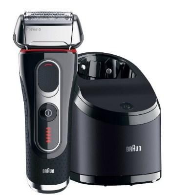 博朗 BRAUN New 5 Series 新5系 5090cc 电动剃须刀(5系旗舰、带清洁桶)    10500日元