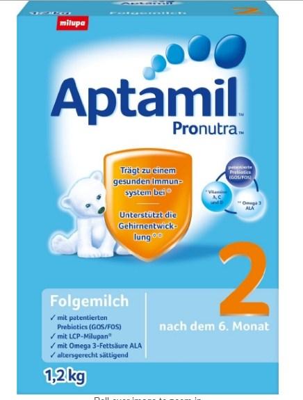 (史低价!)爱他美 Aptamil Pronutra 2 Follow-on Milk 2段婴儿配方奶粉 3罐装 直邮退税后746