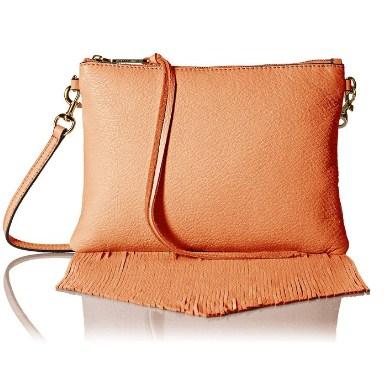 瑞贝卡明可弗 Fringe Jon Cross-Body Bag 全牛皮斜跨女士背包 直邮到手约545