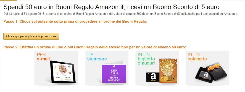 意大利亚马逊礼品卡买50欧送5欧